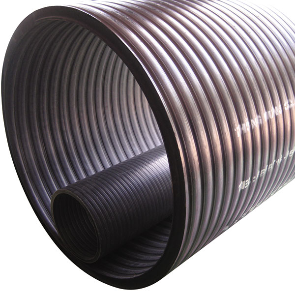 HDPE twisted pipes 2 wall